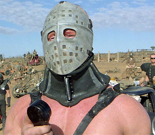 Lord Humungus (Kjell Nilsson in Mad Max) on the mike