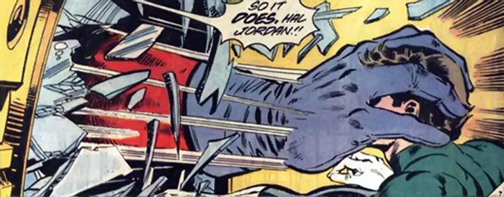 Lord Malvolio vs. Green Lantern Hal Jordan