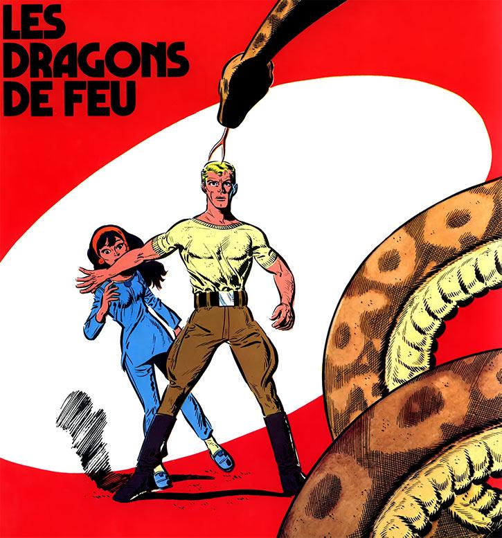 Luc Orient cover les dragons de feu