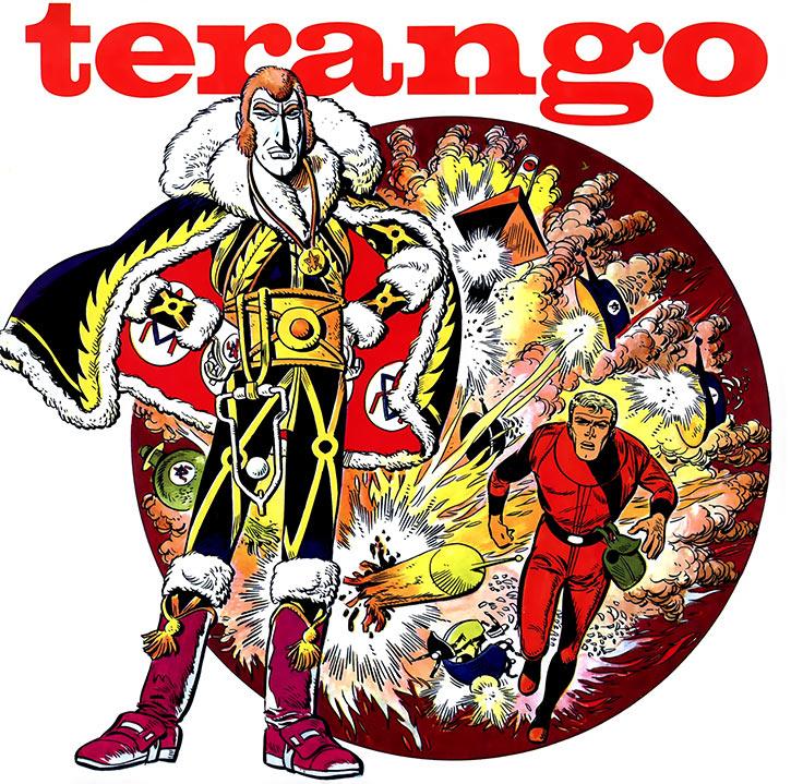 Luc Orient cover le maitre de Terango