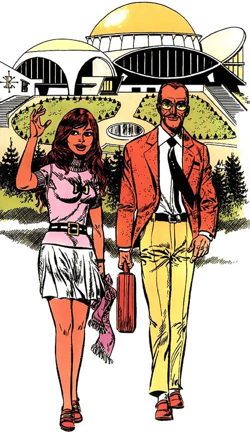 Lora Jordan and Hugo Kala (Luc Orient BD)