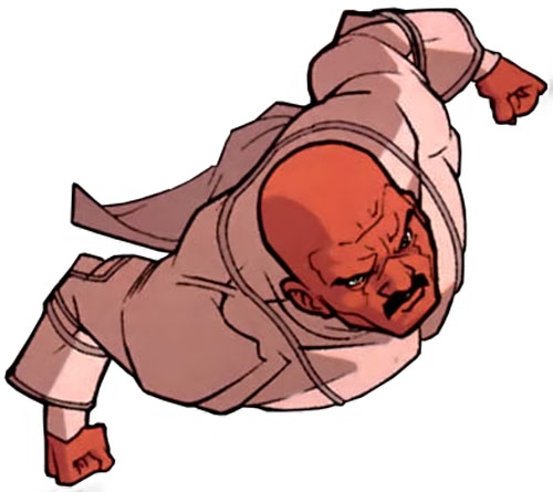 Lucan of the Viltrumites (Invincible Comics) flying in