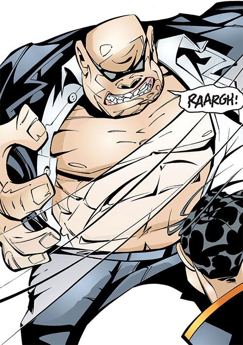 Ludo (Batgirl character) (DC Comics) in action