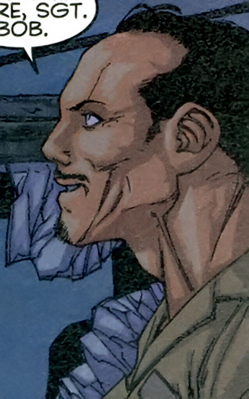 Luis Cisco of Stormwatch Team Achilles (Wildstorm Comics) face side