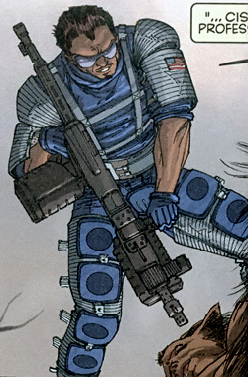 Luis Cisco of Stormwatch Team Achilles (Wildstorm Comics)