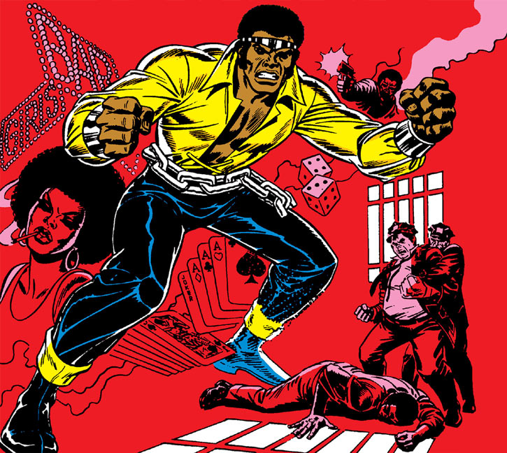 Power Man (Luke Cage) blaxploitation cover