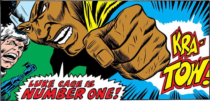 Luke Cage is number one