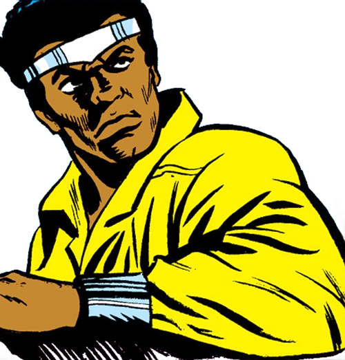 Luke Cage the 1970s hero for hire (Marvel Comics) glare
