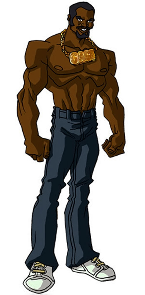Luke Cage in the 2000s (Marvel Comics) by RonnieThunderbolts 4/4