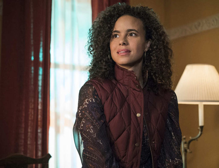 Luke Cage (Netflix version) character profile - Reva Connors - Parisa Fitz