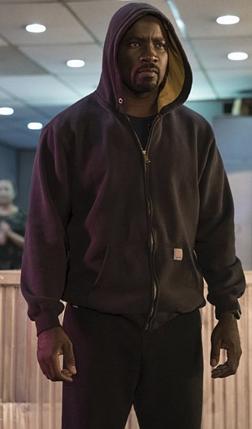 Luke Cage (Netflix version) character profile - Carhartt hoodie