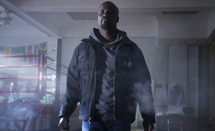 Luke Cage (Netflix version) character profile - ringside gunfire