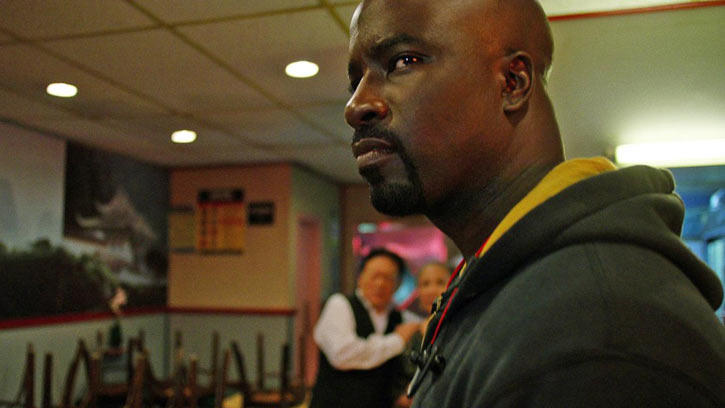 Luke Cage (Netflix version) character profile - stare in Chinese restaurant