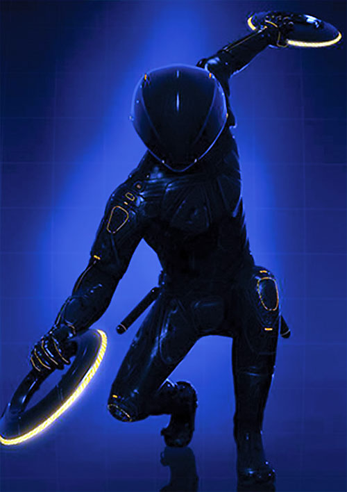 Warrior program in TRON Legacy