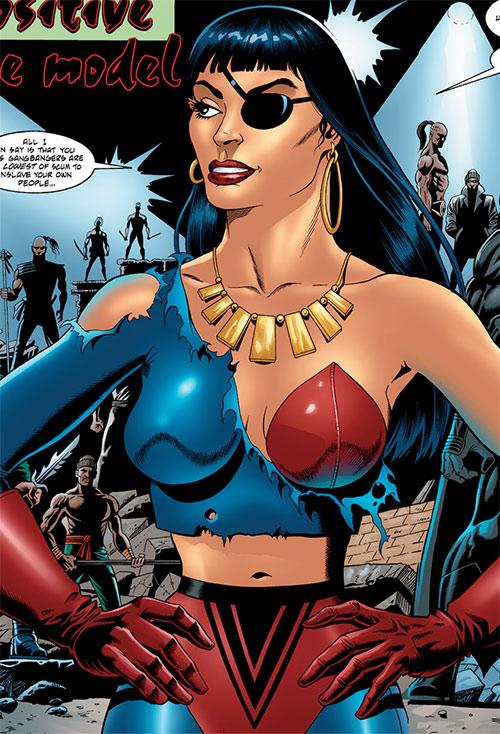 Lynx (Robin enemy) (DC Comics) during the No Man's Land