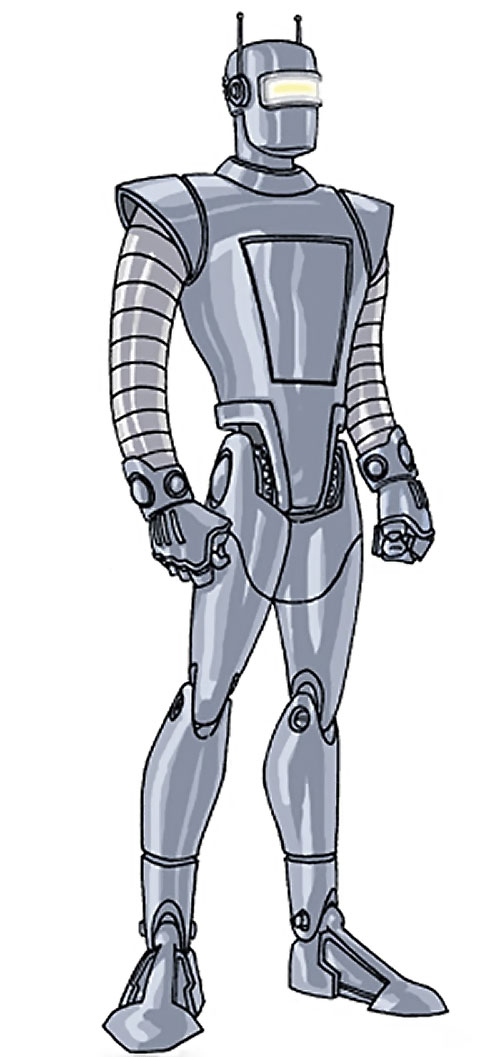 M11 the human robot (Agents of Atlas character) (Marvel Comics) by RonnieThunderbolts 2/2