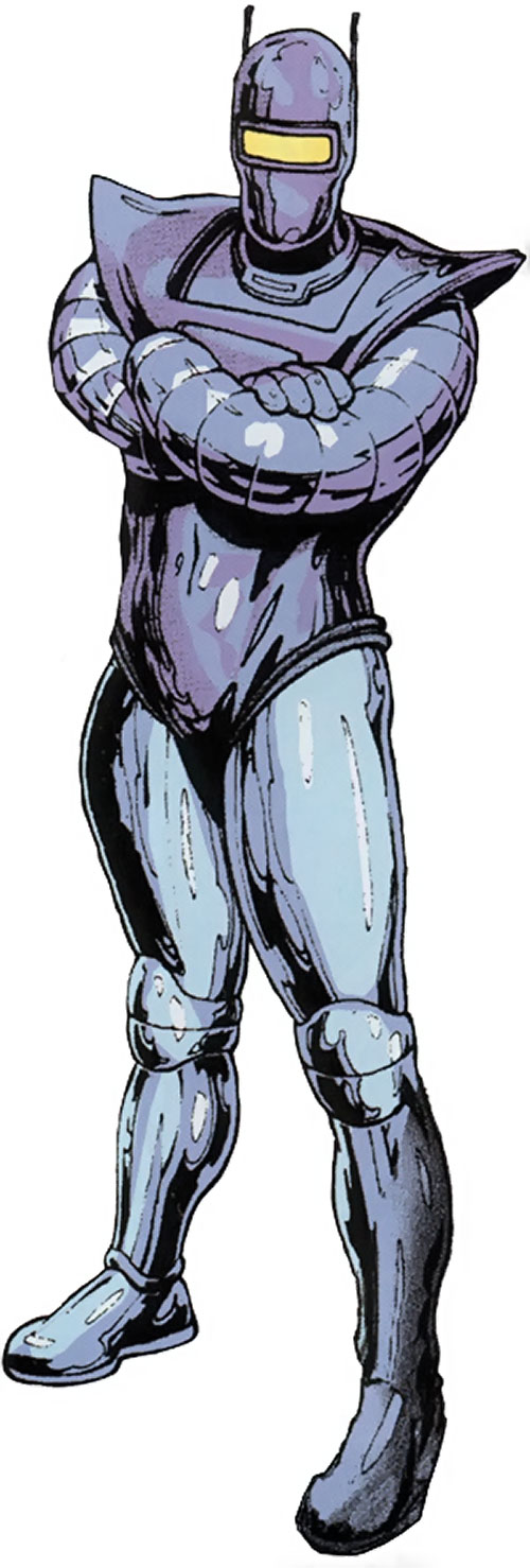 M11 the human robot (Agents of Atlas character) (Marvel Comics)
