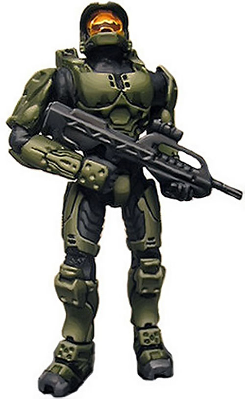MJOLNIR Spartan body armor in Halo