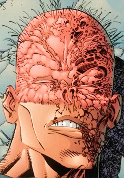 Mace (Savage Dragon comics) disfigured