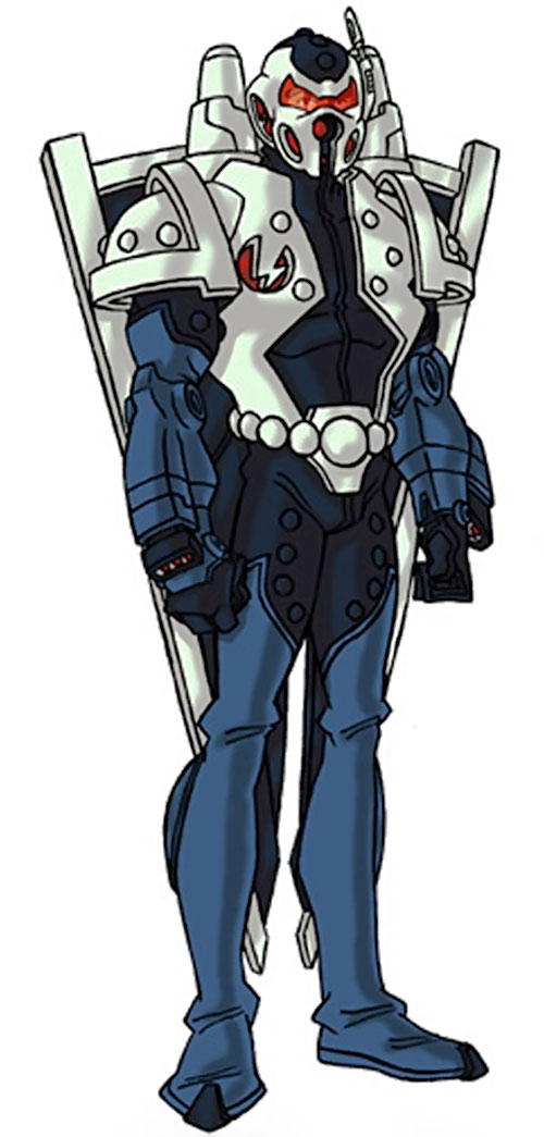 Mach-1 armor (Marvel Comics) by RonnieThunderbolts