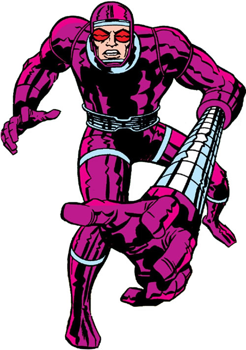 Machine Man (Marvel Comics) telescoping arm advert
