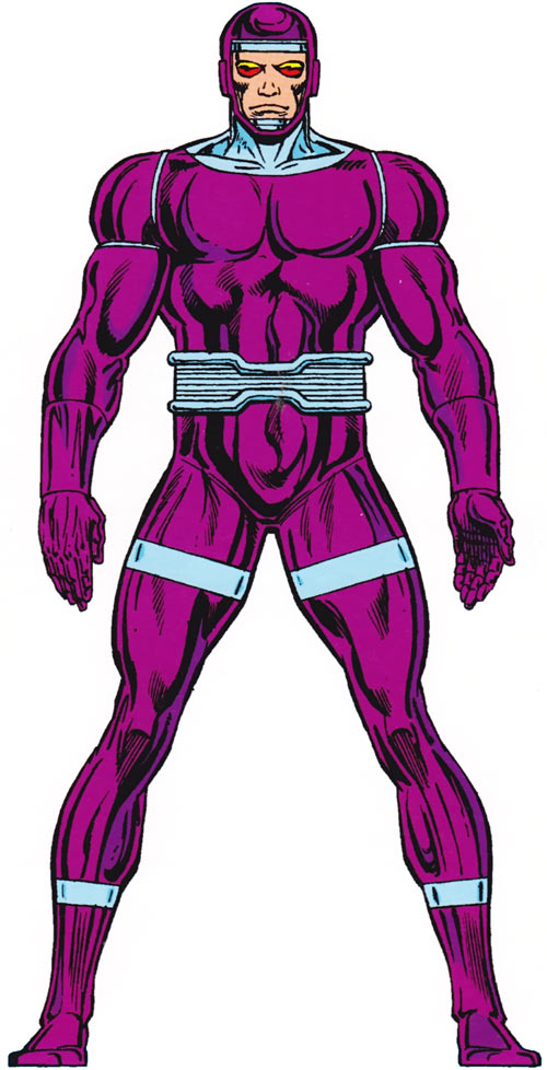 Machine Man (Marvel Comics) from the Master Edition handbook