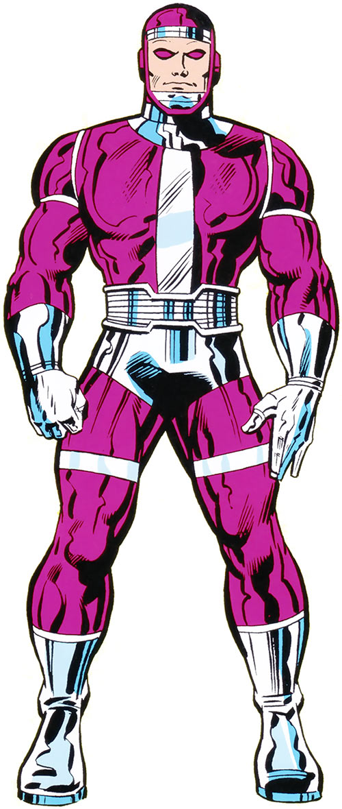 Machine Man - Marvel Comics - OHOTMU 1983