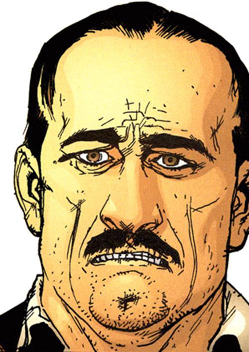 Dino Manolis (Stormwatch PHD) (Wildstorm Comics) face closeup