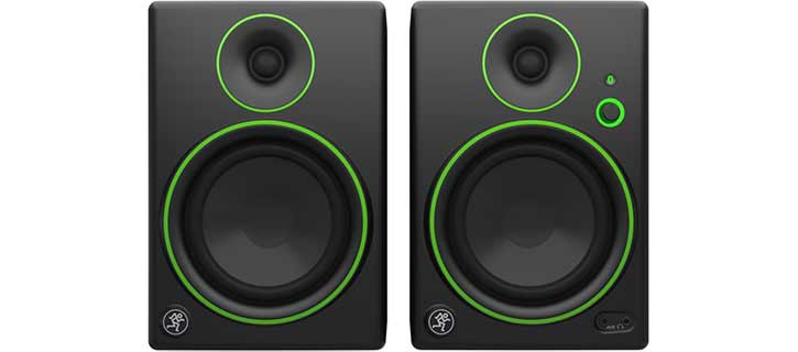 Mackie CR4 speakers