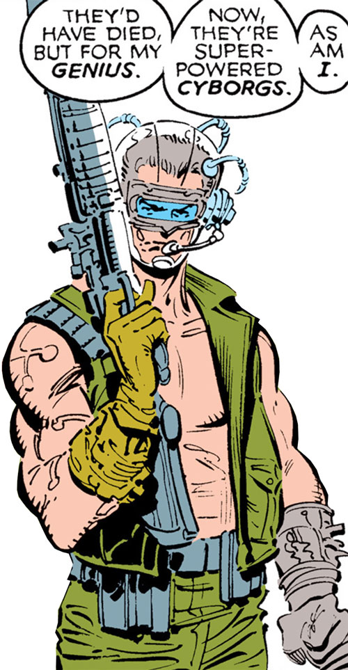 Macon of the Reavers (X-Men enemy) (Marvel Comics)