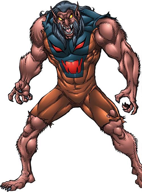 Mad Dog (Marvel Comics) mutated appearance