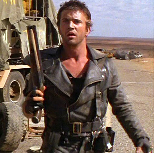 Mad Max (Mel Gibson) with his sawed-off