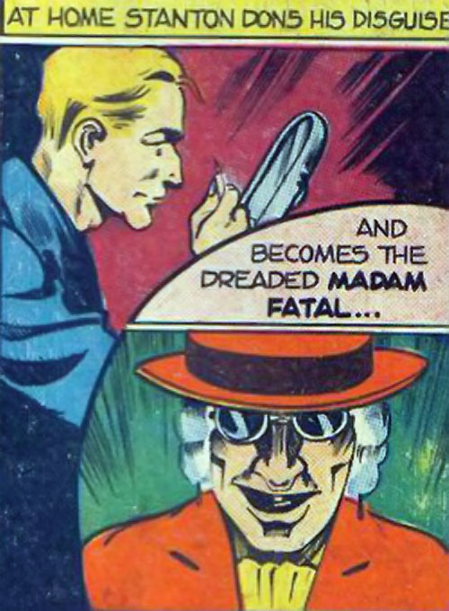 Madam Fatal (Quality Crack Comics) transformation