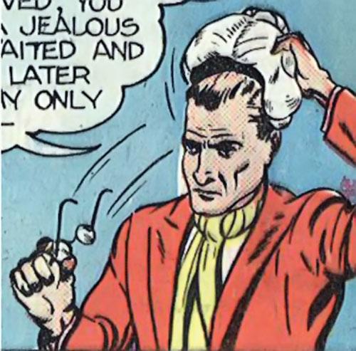 Madam Fatal (Quality Crack Comics) Stanton removes his disguise