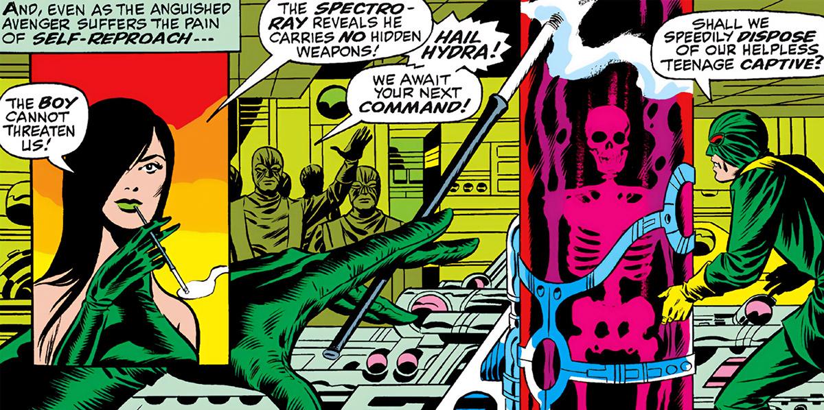 Madame Hydra (Viper) (Marvel Comics) earliest Captain America - spectro ray