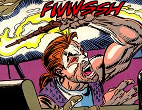 Moorek of HYDRA DOA (Marvel Comics) using his powers