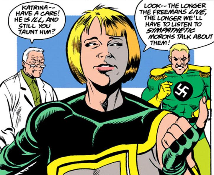 Madame Libertine and Captain Nazi