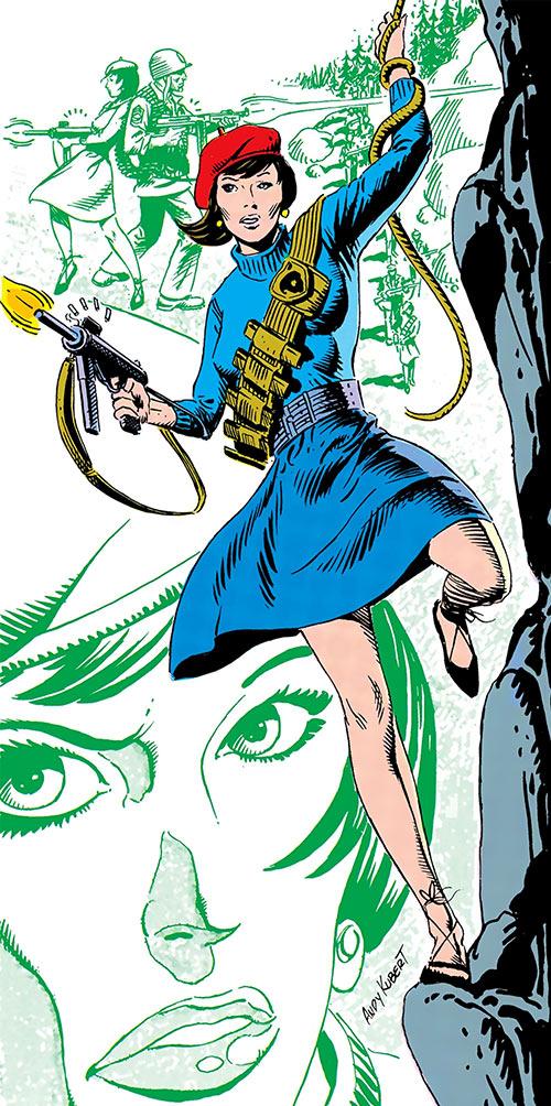 Mademoiselle Marie (Sergeant Rock ally) (DC Comics)