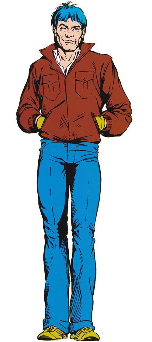 Madison Jeffries (Marvel Comics) (Alpha Flight ally) in the 1985 official handbook