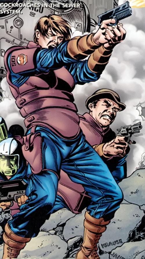 Maggie Sawyer of the Metropolis SCU (DC Comics)