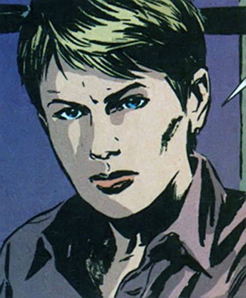 Maggie Sawyer of the Gotham Central MCU (DC Comics) face closeup