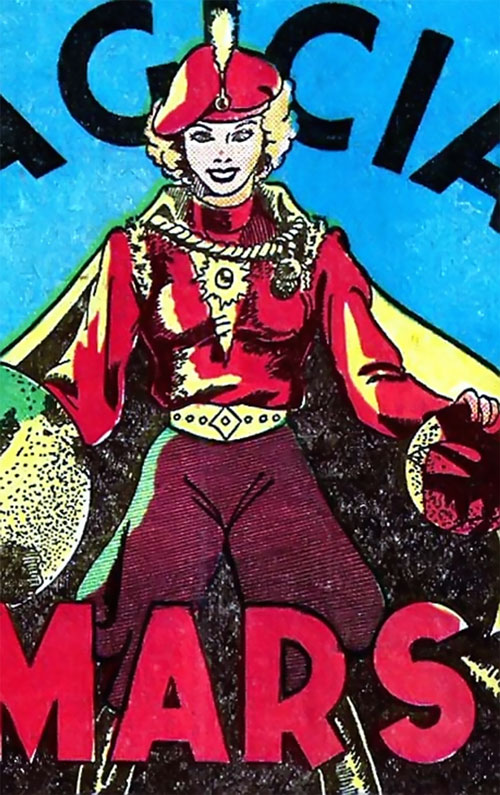 Magician from Mars (Centaur comics) in uniform