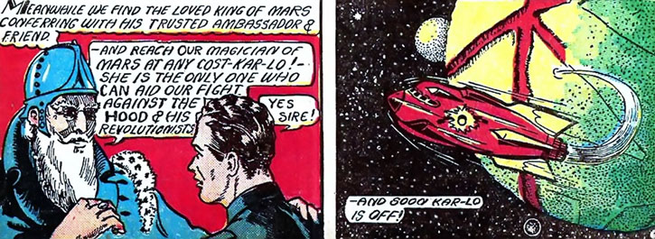 The Magician From Mars' atomic rocket