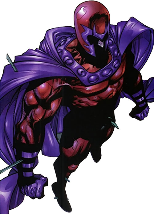Magneto (Marvel Comics) dramatic pose