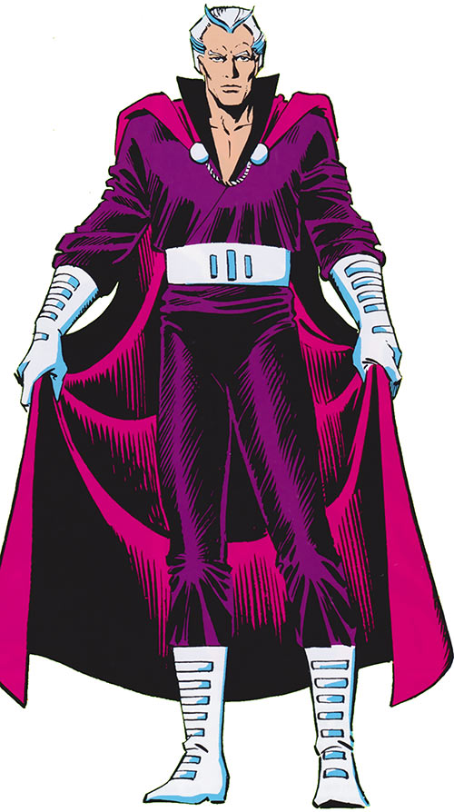 Magneto (Marvel Comics) from the 1986 handbooks
