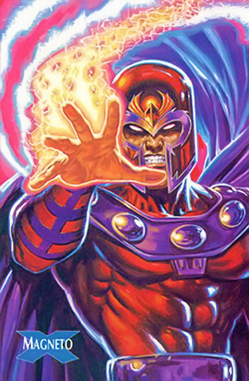 Magneto (Marvel Comics) trading card