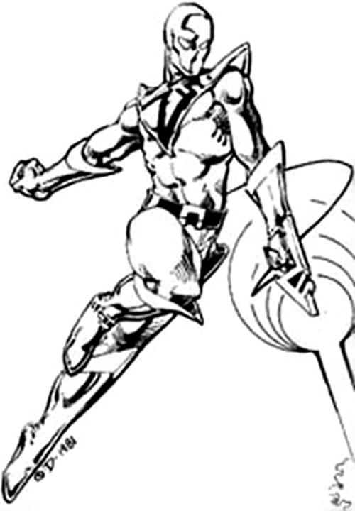 Magnetor (Villains & Vigilantes RPG)