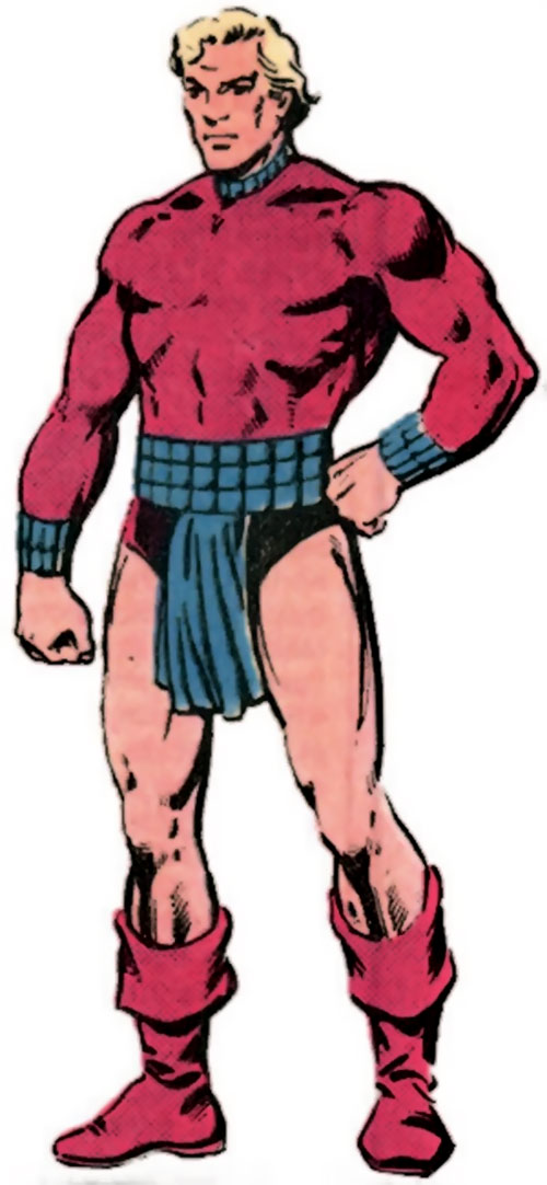 Magno-Lad of the Legion of Super-Villains (DC Comics) from the Who's Who