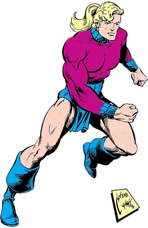 Magno-Lad of the Legion of Super-Villains (DC Comics)