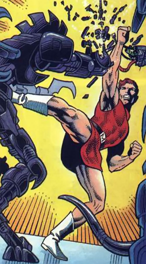 Magnus Robot Fighter (Valiant Comics 1990s) upskirt